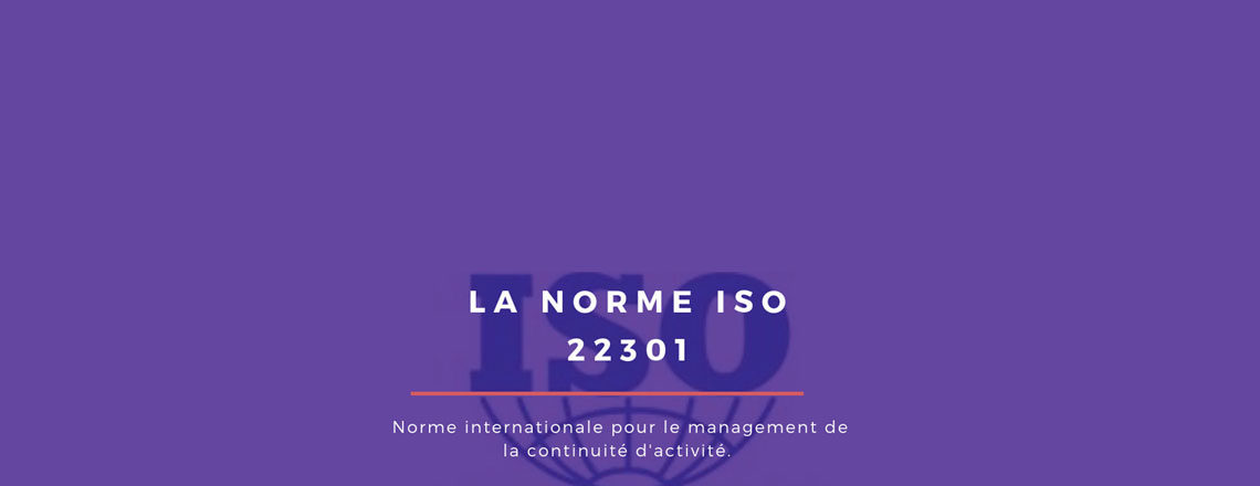 blog Adenium : illustration article norme ISO 22301