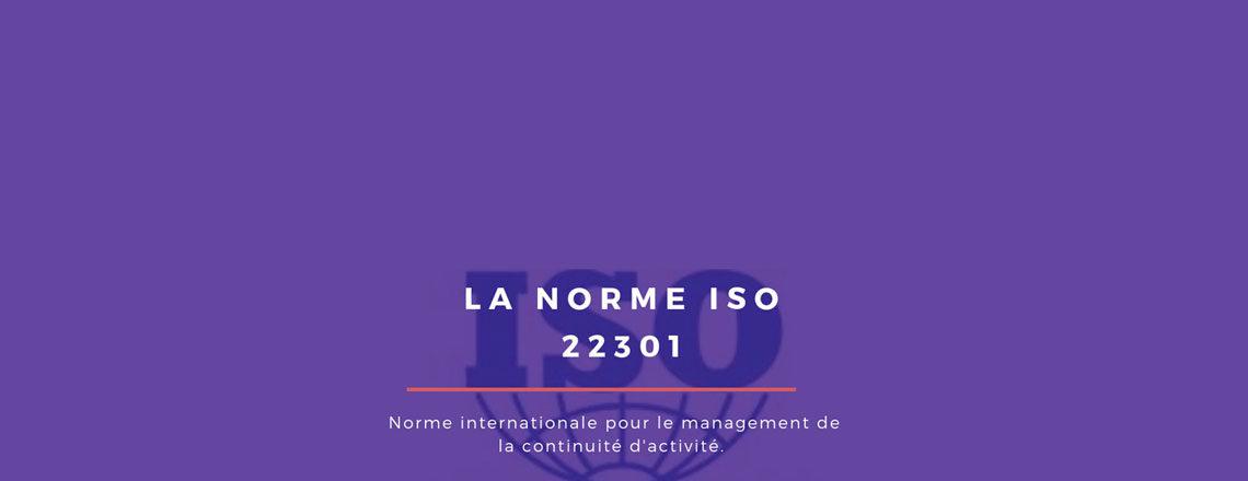 blog Adenium : illustration article norme ISO 22301