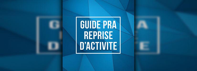 illustration guide PRA reprise d'activité